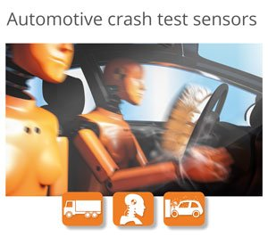 Brochure Automotive crash test sensors
